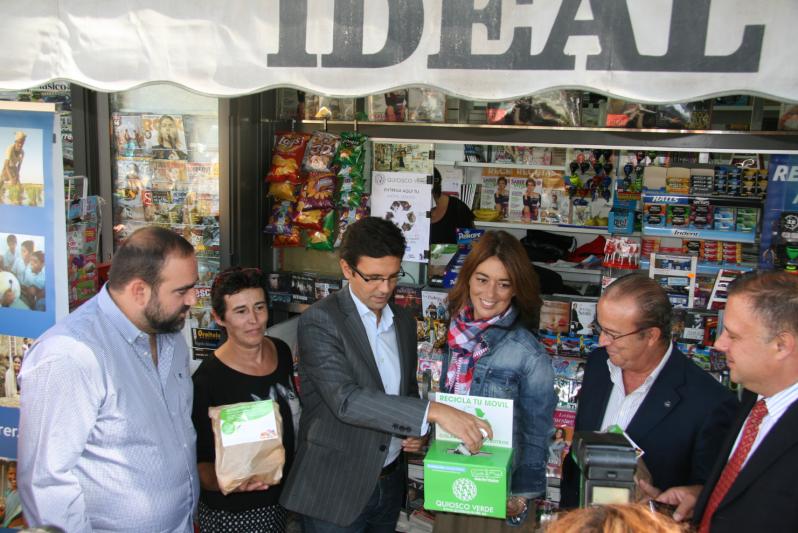 Presentación de la campaña de Quiosco Verde