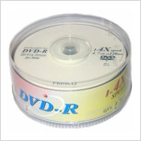 DVD-R Princo 25 uds.