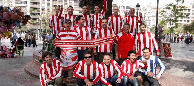 La Asociación de Prensa con el Granada Club de Futbol