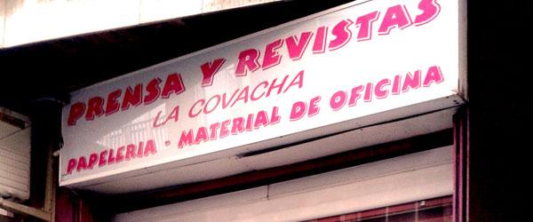 Prensa y revistas La Covacha