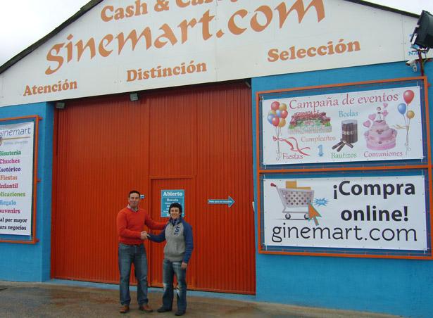 Convenio con la empresa Ginemart