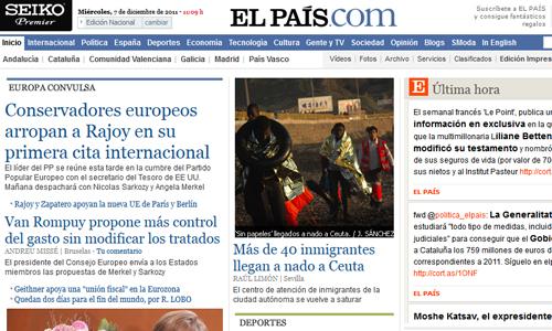 El Mundo y El País ultiman proyectos para cobrar por contenidos 'premium' en sus ediciones digitales