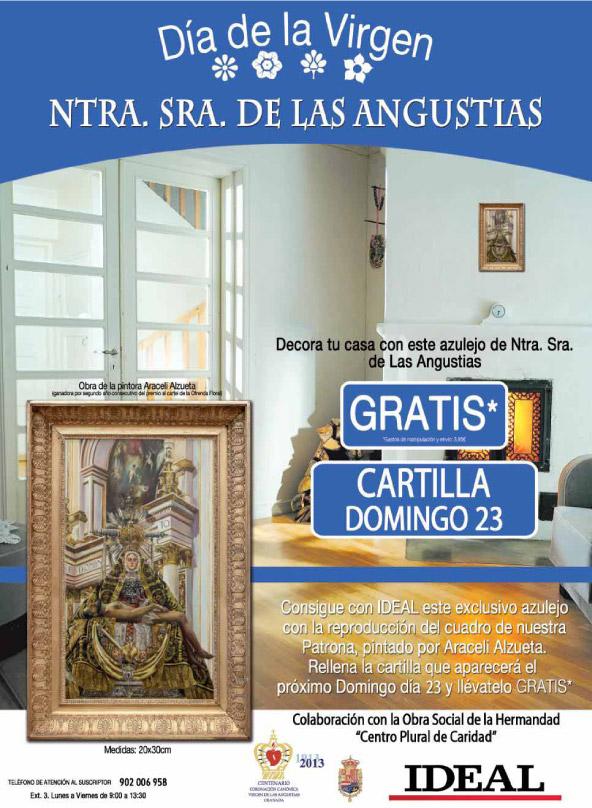 Decora tu casa con el azulejo de Ntra. Sra. de las Angustias