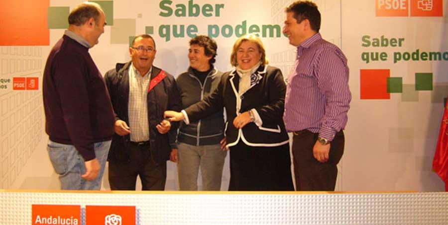 Reunión en Granada de la federación andaluza de vendedores de prensa