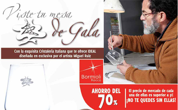Promo diario Ideal Cristalería italiana