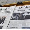 Las exclusivas de El Mundo y El País frena el desplome de las ventas de diarios en enero