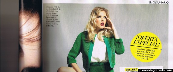 Revista 'Grazia': los quiosqueros dificultan la distribución del primer número