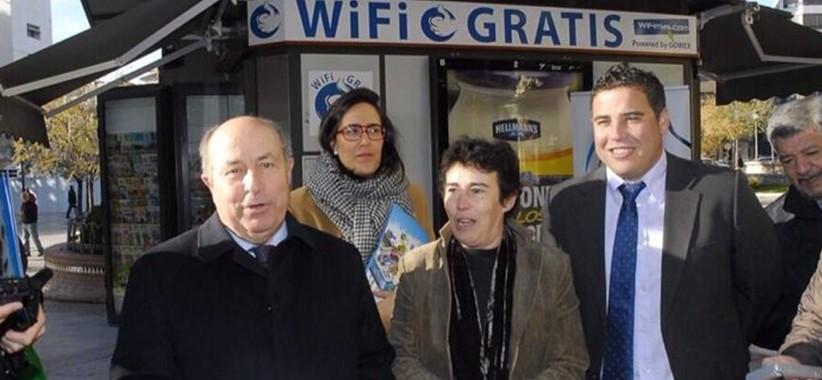 20 nuevos quioscos de Granada ofrecerán wifi gratis las 24 horas
