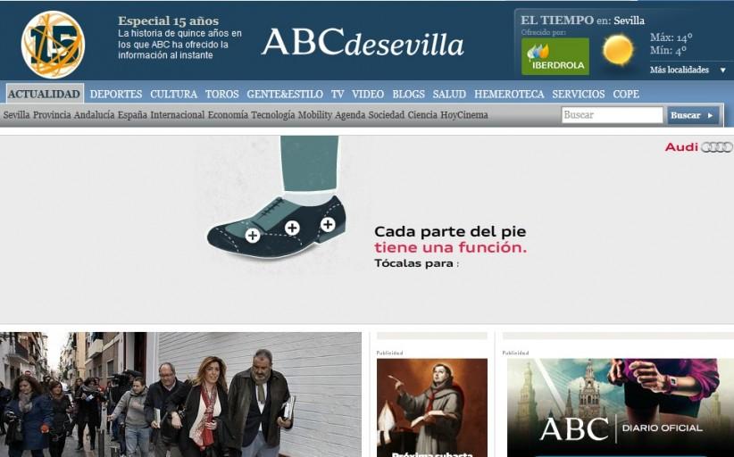 PRIMICIA PR: Vocento cierra la imprenta de 'ABC Sevilla' y despide a 37 trabajadores
