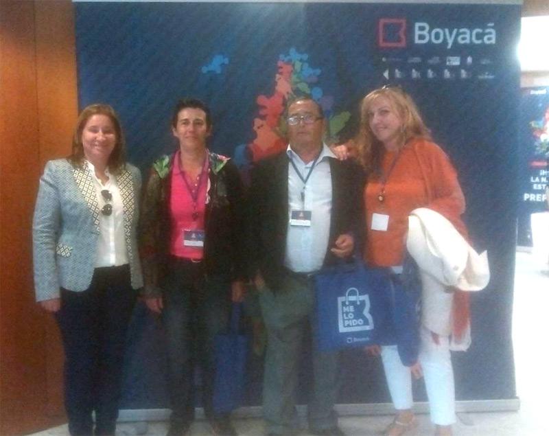 BOYACA EXPONE EN UN HOTEL DE MALAGA LOS PRODUCTOS DEL CATÁLOGO ESPECIAL NAVIDAD