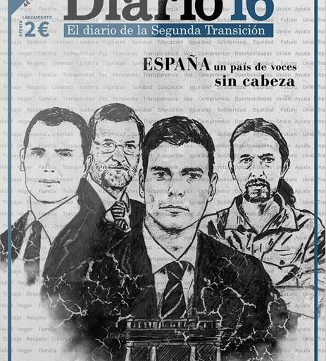 'Diario16' vuelve a los quioscos como revista mensual
