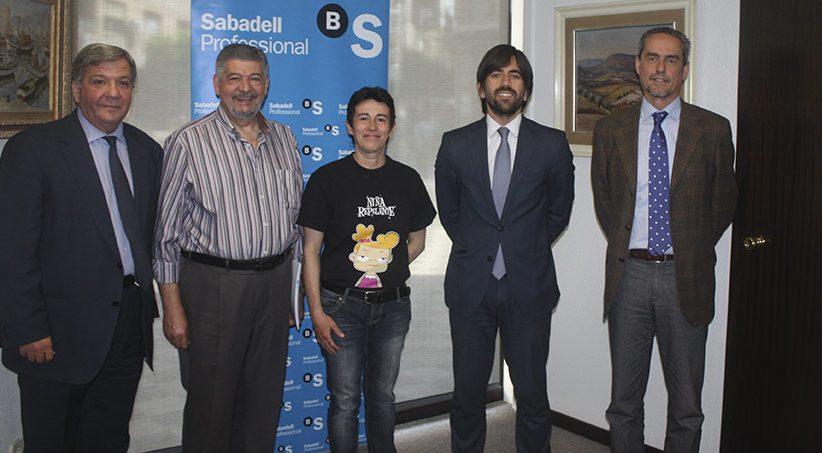 ACUERDO DE LA ASOCIACION DE VENDEDORES DE PRENSA DE GRANADA CON EL BANCO SABADELL