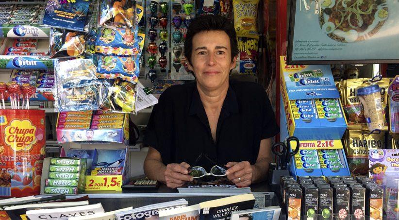 Entrevista a Remedios Garrido. Presidenta de la Asociación de Vendedores de Prensa de Granada