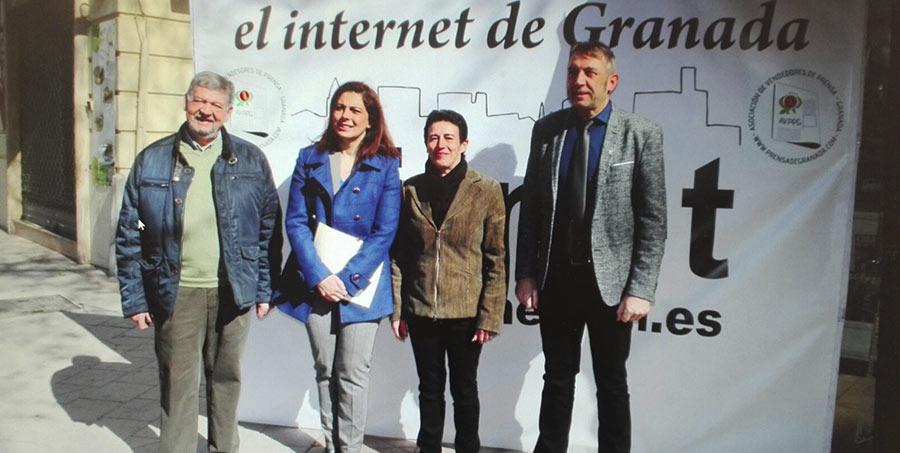 La conexión WIFI vuelve a los puntos de venta de prensa de Granada
