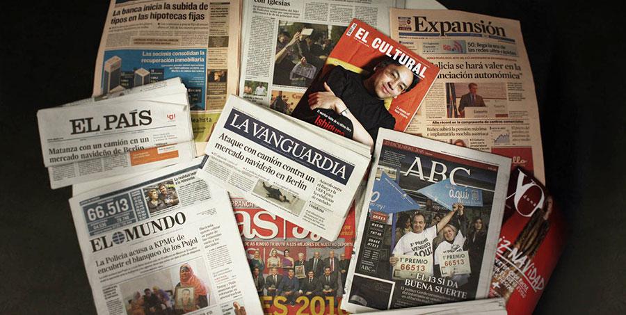 La prensa escrita asiste al desprendimiento de los 100.000 ejemplares en venta