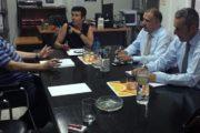 Reunión con D. Fernando Caballero (Boyaca) y D. Ricardo Rodríguez (Distribuciones Ricardo Rodríguez)