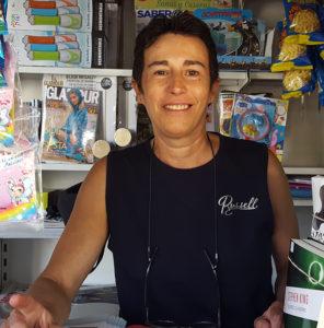 Remedios G. García, Presidenta de la Asociación de Vendedores de Prensa de Granada
