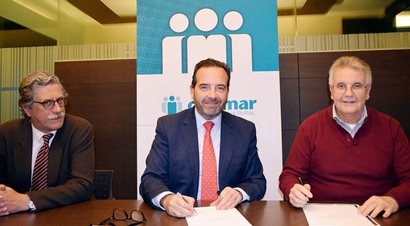 CAJAMAR firma un convenio con ANVP para facilitar la financiación de los vendedores de prensa