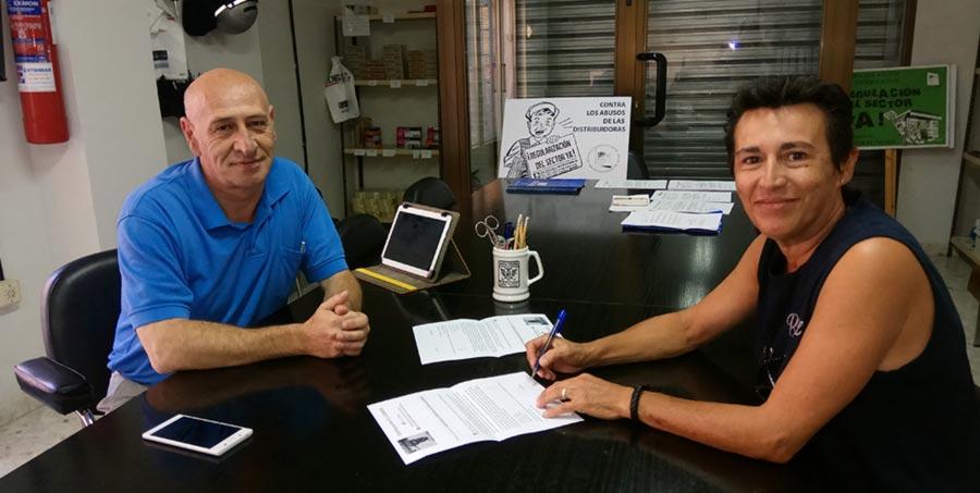 Acuerdo comercial entre Distribuciones El Carmen y la AVPPG