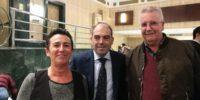Con Rafael Artacho, presidente honorífico de ANVP
