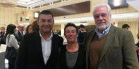 A la izquierda, Eduardo Abad, secretario general de UPTA y a la derecha, Félix Cuesta colaborador de ATA