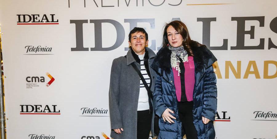 Remedios Garrido y Eva Orantes