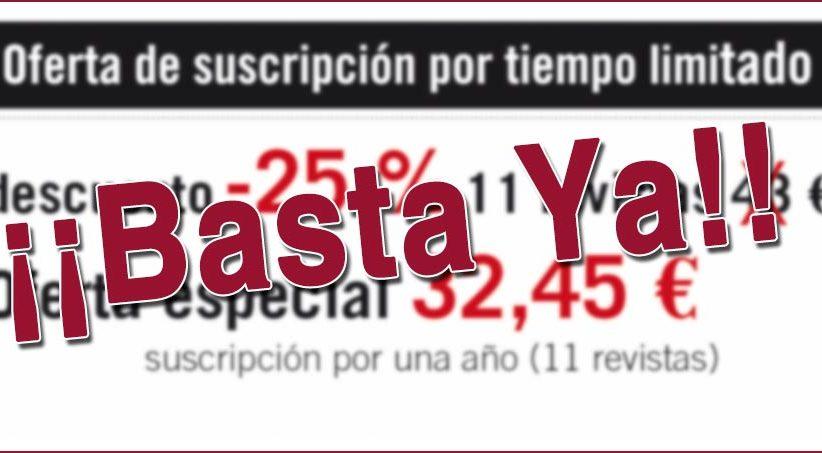 SUSCRIPCIONES EXTERNAS DE LOS EDITORES DE PUBLICACIONES: COMERCIO INJUSTO
