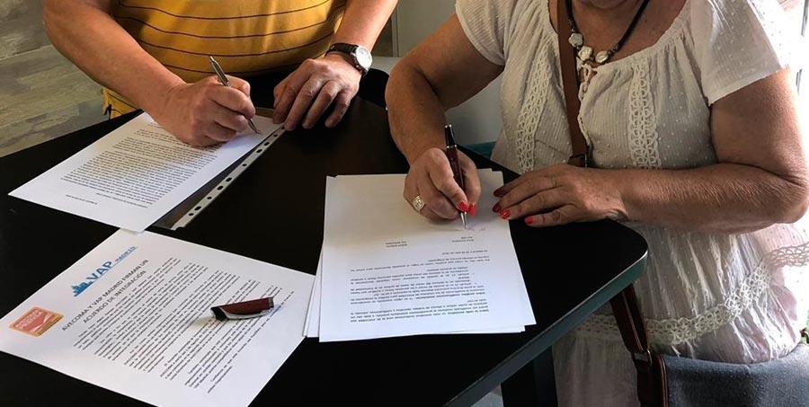 AVECOMA y VAP Madrid firman un acuerdo de integración