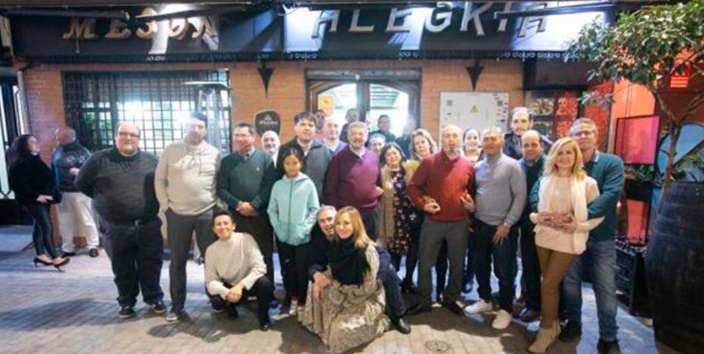 La Asociación de Vendedores de Prensa de Granada celebra su 'encuentro navideño'