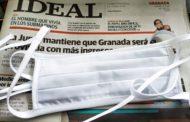 El diario Ideal dona mascarillas a los Kioscos de Granada