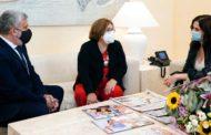 Reunión con la Presidenta de la Comunidad de Madrid