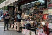 El ocaso de los quioscos de prensa de Granada